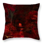 Red IIi Throw Pillow