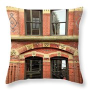 Red Jacket Throw Pillow