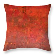 Red Jasper Stone Throw Pillow