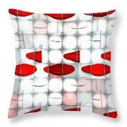 Red Light Glasses Throw Pillow