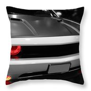 Red Lights Throw Pillow by Tom Gari Gallery-Three-Photography