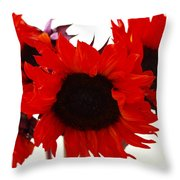 Red Lullaby No2 Throw Pillow
