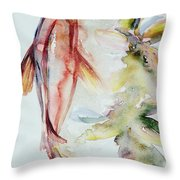 Red Mangrove Throw Pillow by Ashley Kujan
