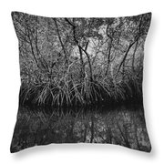 Red Mangroves Number 1 Throw Pillow