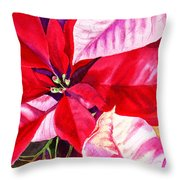 Red Red Christmas Throw Pillow