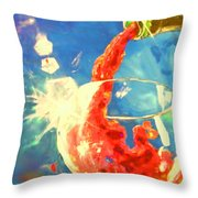 Red Red Wine 2 Throw Pillow