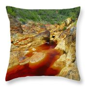 Red River Huelva Throw Pillow