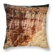 Red Rock Bryce Canyon  Throw Pillow