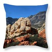 Red Rock Canyon 2 Throw Pillow