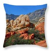 Red Rock Canyon 5 Throw Pillow