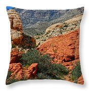 Red Rock Canyon 6 Throw Pillow
