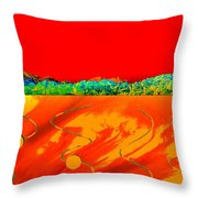 Red Rock Canyon 81 Throw Pillow