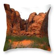 Red Rock Canyon. Throw Pillow
