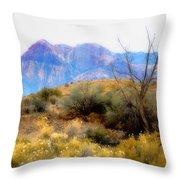 Red Rock Canyon Throw Pillow