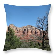 Red Rock Country - Sedonna Throw Pillow
