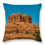 Red Rock Formation Sedona Arizona 21 Throw Pillow