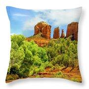 Red Rock State Park Sedona Arizona Throw Pillow