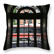 Red Rocket 32 Throw Pillow