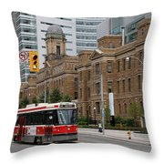 Red Rocket 36 Throw Pillow