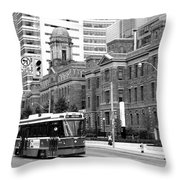 Red Rocket 36b Throw Pillow
