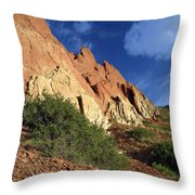 Red Rocks 4 Throw Pillow