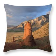 Red Rocks 6 Throw Pillow