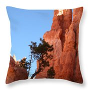 Red Rocks Of Bryce Canyon  Throw Pillow
