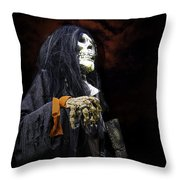 Red Skys At Night Pirates Delight Throw Pillow