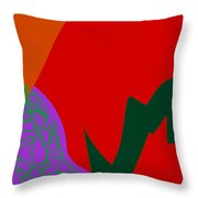 Red Spice Throw Pillow