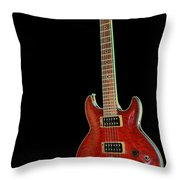 Red Stands Out Throw Pillow