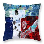 Red State Throw Pillow