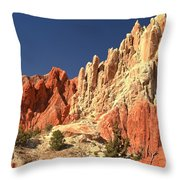 Red To White To Blue Throw Pillow