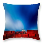 Red White And Blue Throw Pillow
