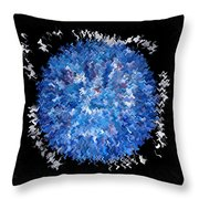 Red  White  Blue  Abstract Throw Pillow