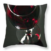 Red Wine Beverage Throw Pillow