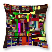 Redemption Prayer 14  Throw Pillow