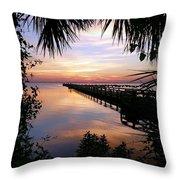 Redemption Sunrise II Throw Pillow