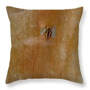 Redgum Tree Throw Pillow
