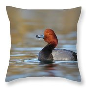 Redhead Throw Pillow