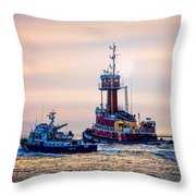 Redhook Harbor Throw Pillow