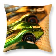 Redline Racers Throw Pillow