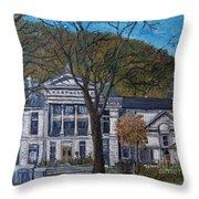 Redpath Museum Throw Pillow