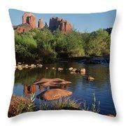Redrock Crossing Throw Pillow