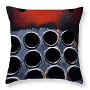 Redrum 3 Throw Pillow