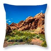 Redstone Picnic Area Throw Pillow