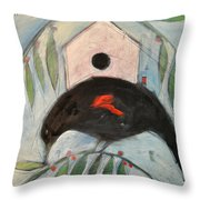 Redwing White House Throw Pillow