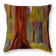 Redwood Giant Throw Pillow