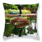Reflected Archer  Throw Pillow