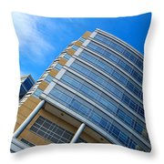 Reflecting Angles Throw Pillow