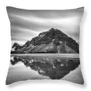 Reflecting Bow Throw Pillow by Jon Glaser